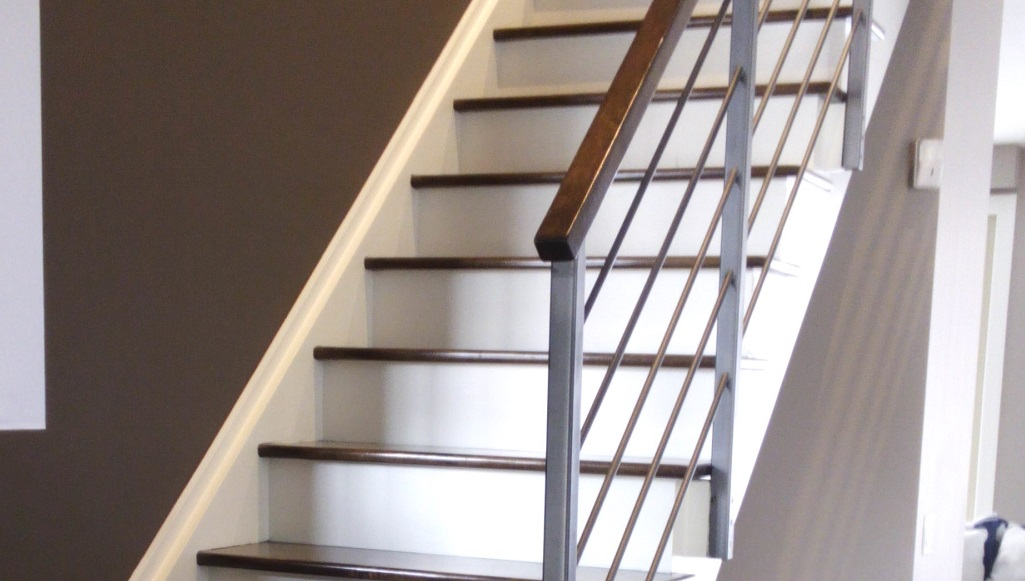 kitchen renovations on a budget rustic faucet stairs - adept services
