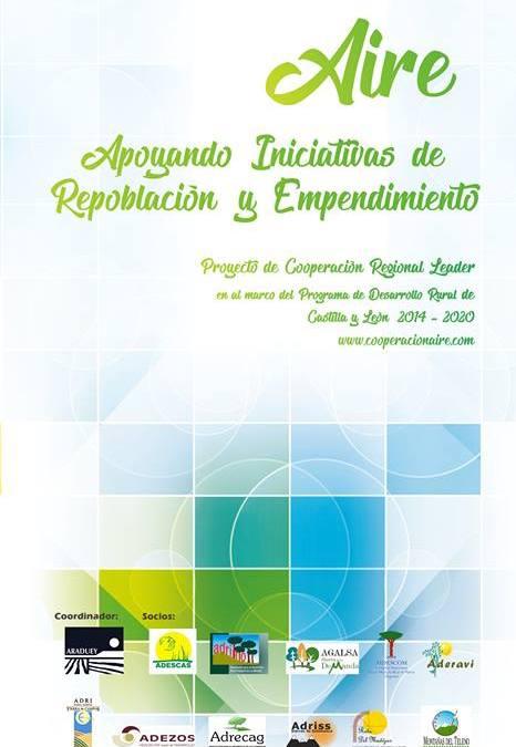 ADERAVI participa en la presentación del proyecto AIRE