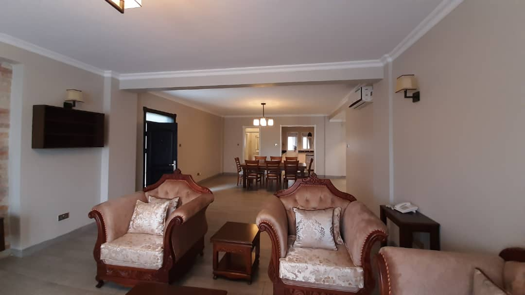 3BR Furnished Apartment In Kololo