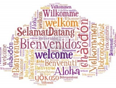 welcome-different-languages-in-cloud-shape