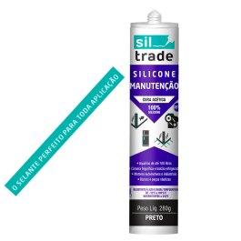 Silicone Siltrade 280gr Rtv Ideal Para Aquários Sem Fungicid