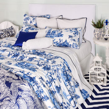 Blue And White Chinoiserie A Decorators Notebook
