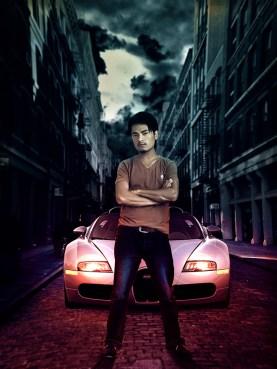 arjun-with-bugatti