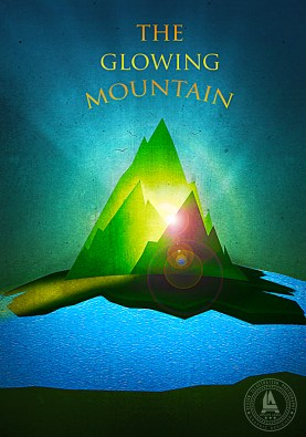 The glowing mountain