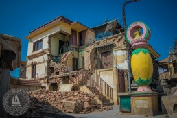 Monastery wrecked by Earthquake