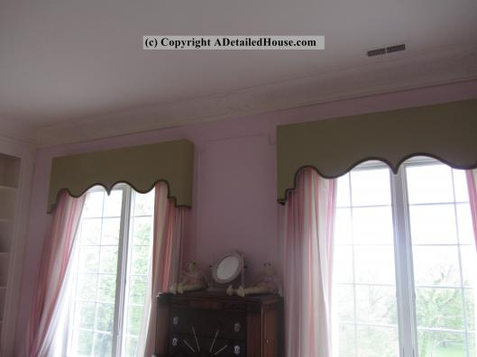 How to Make Fancy Cornice Boards  A Detailed House