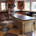 Kitchen islands with legs hybrids of farm tables and cabinets a