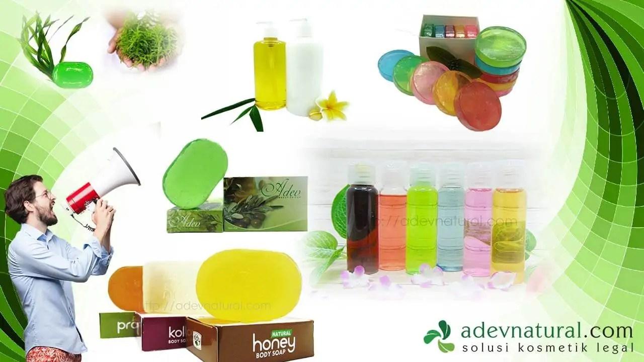 peluang usaha online jualan produk maklon kosmetik dan sabun kecantikan