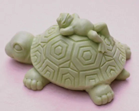 Gambar ukiran kura kura dari sabun