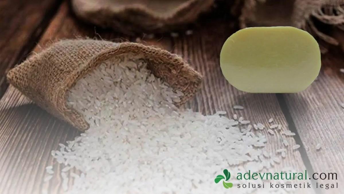 manfaat sabun beras