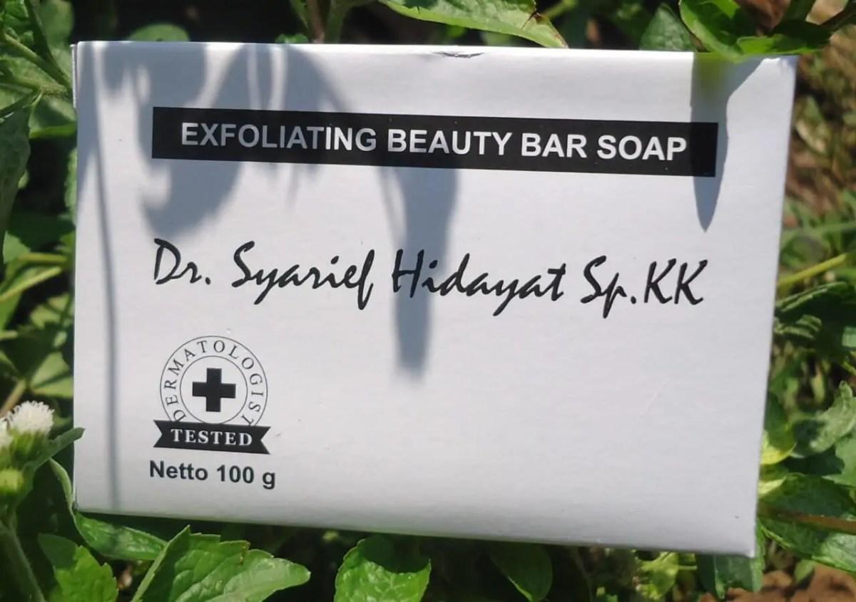 sabun eksfoliasi buatan PT ADEV Natural Indonesia