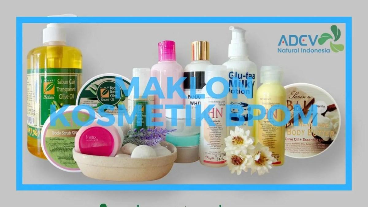 jasa maklon produk kecantikan terdaftar BPOM