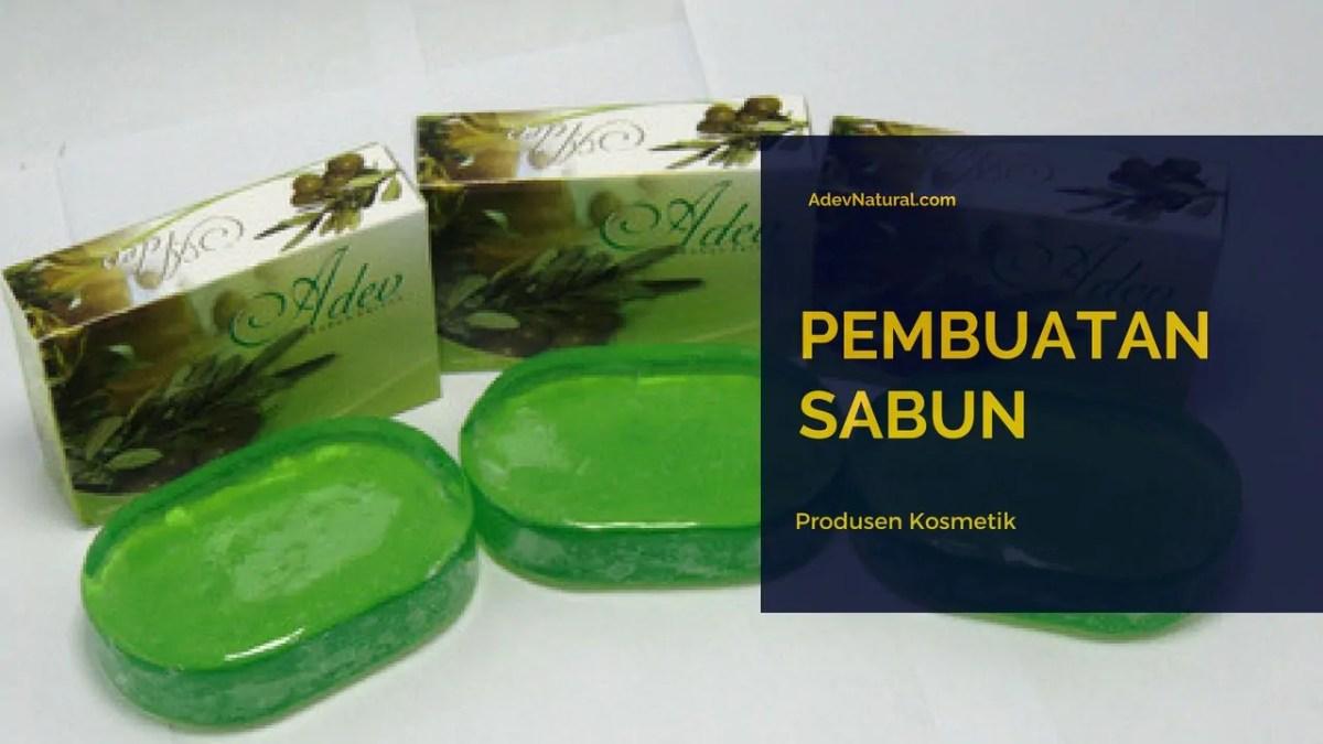 jasa pembuatan sabun via Maklon BPOM