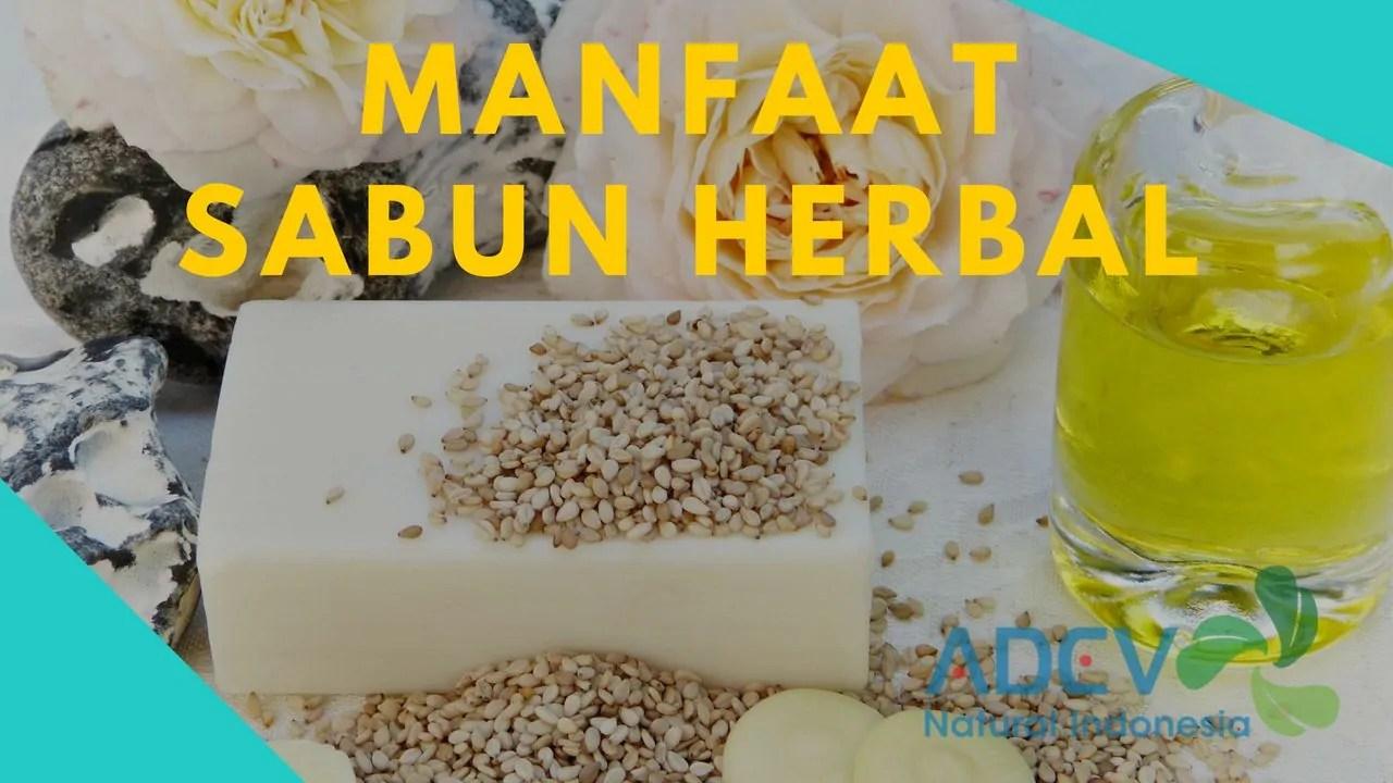 manfaat sabun herbal