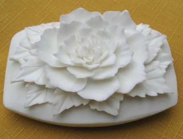Gambar kerajinan sabun bentuk bunga