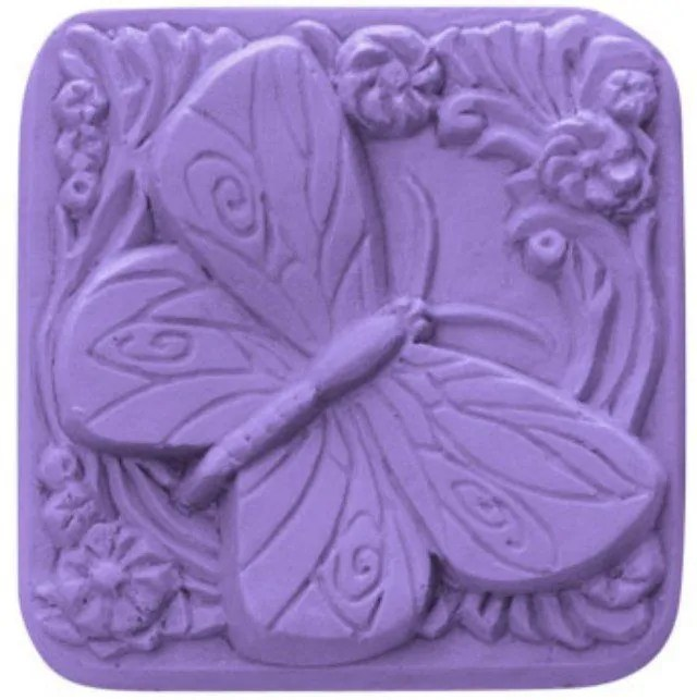 Gambar kerajinan sabun bentuk kupu-kupu