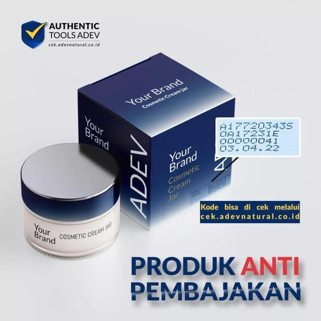 maklon kosmetik bpom - adev sediakan tools checker keaslian produk online