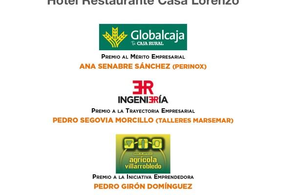 XIII Edición Premios Quijote ADEVI 2017 – Cena Empresarial