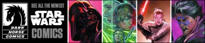 New Star Wars Comics and More From Dark Horse
