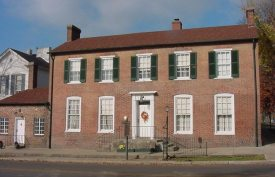 Historic Brown-Pusey House, circa 1825. Elizabethtown, KY