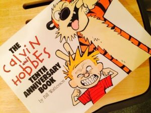 Calvin and Hobbes Tenth Anniversary Book cover