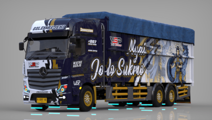 MOD PACK TRUCK MERCEDES ACTROS – BUSSID MOD