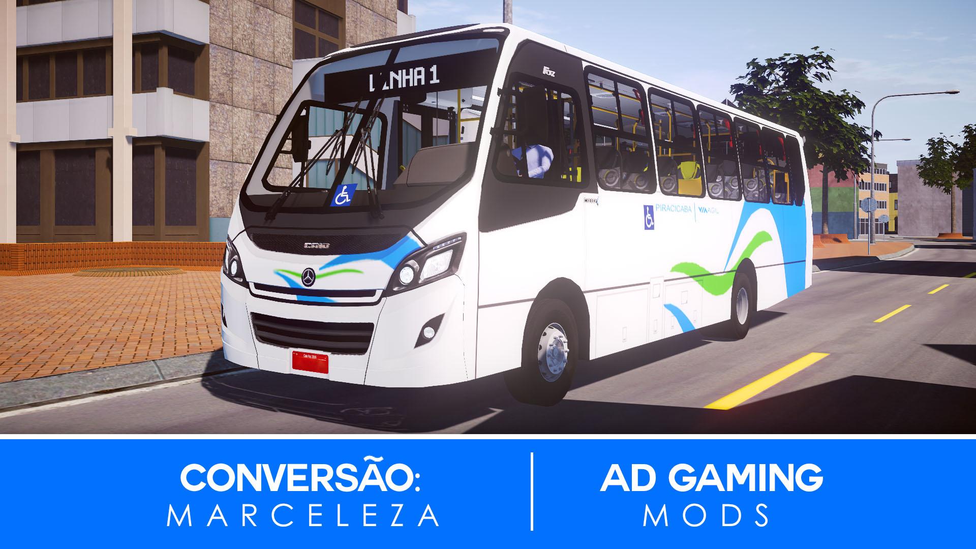 Mod do Caio Foz 2016 LO-916 para Proton Bus Simulator