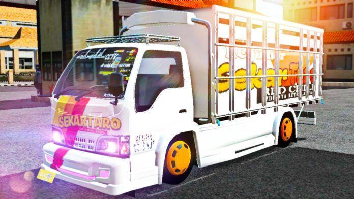 Bus Simulator Indonésia: Truck Isuzu NKR Mbois (Download)