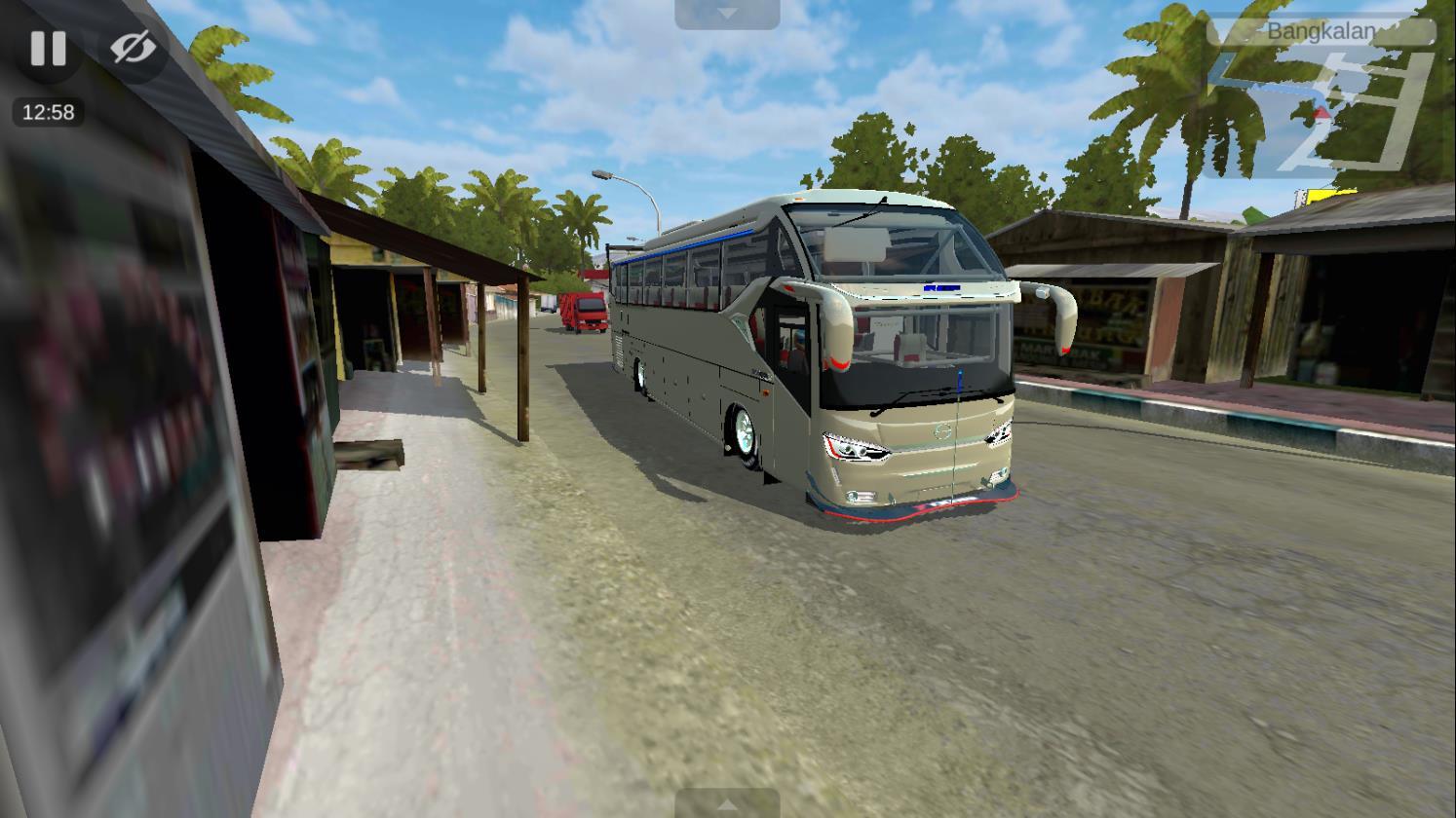 Bus Simulator Indonésia: SR2 Racing