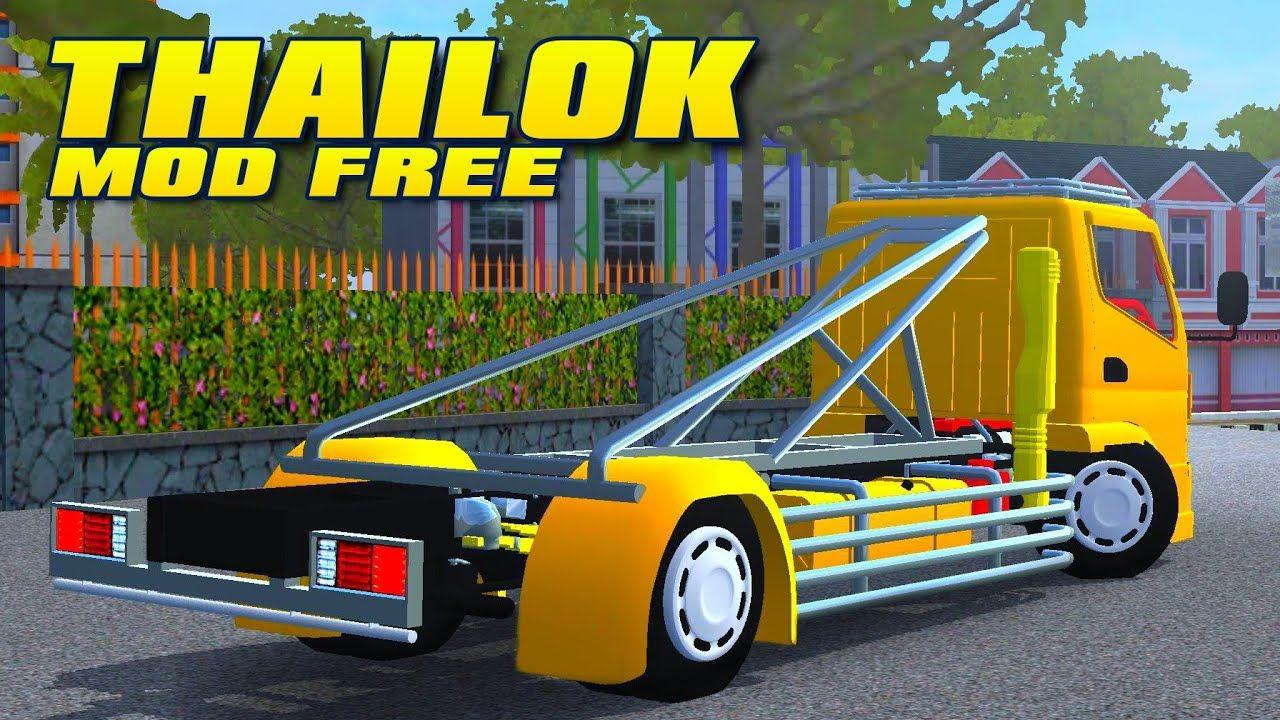 Bus Simulator Indonésia: Canter Thailok Free (Download)