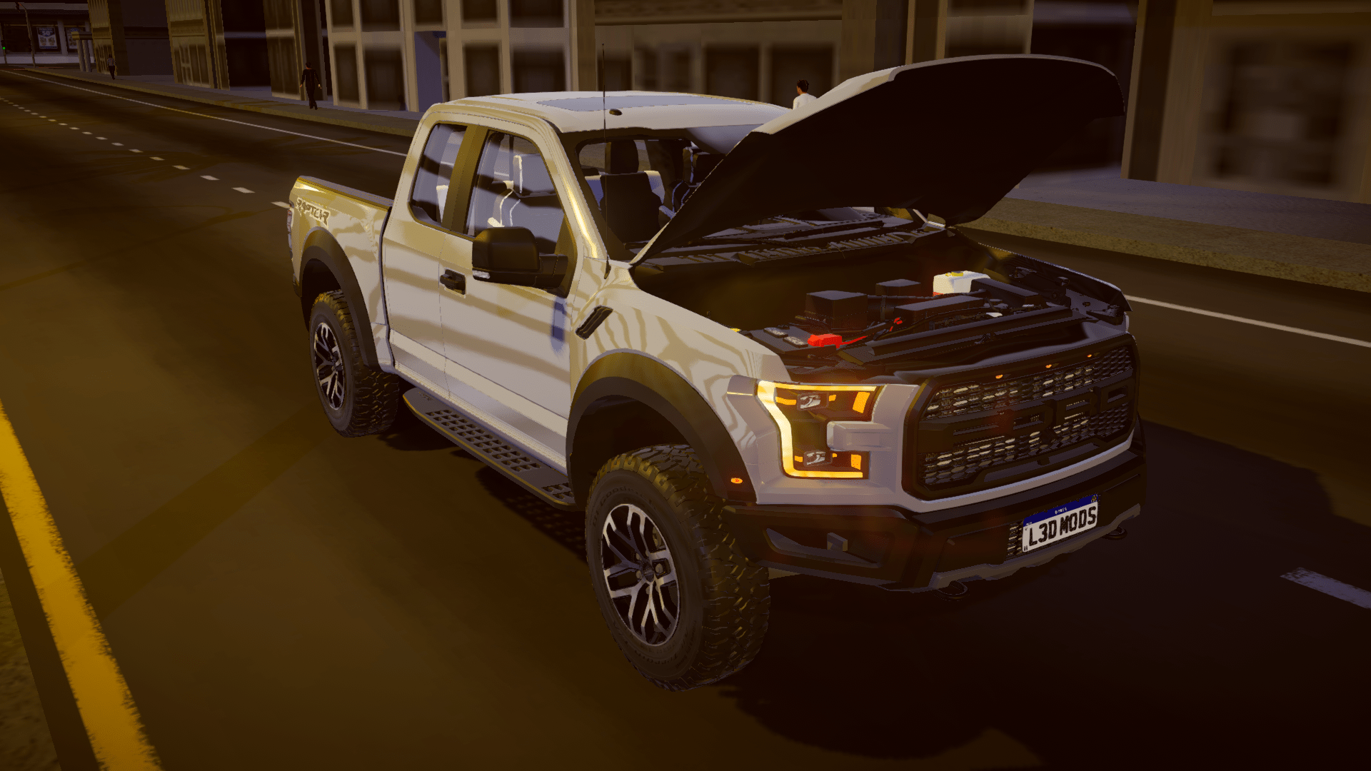 Ford Raptor F-150 (Fase 2) para Proton Bus Simulator/Road