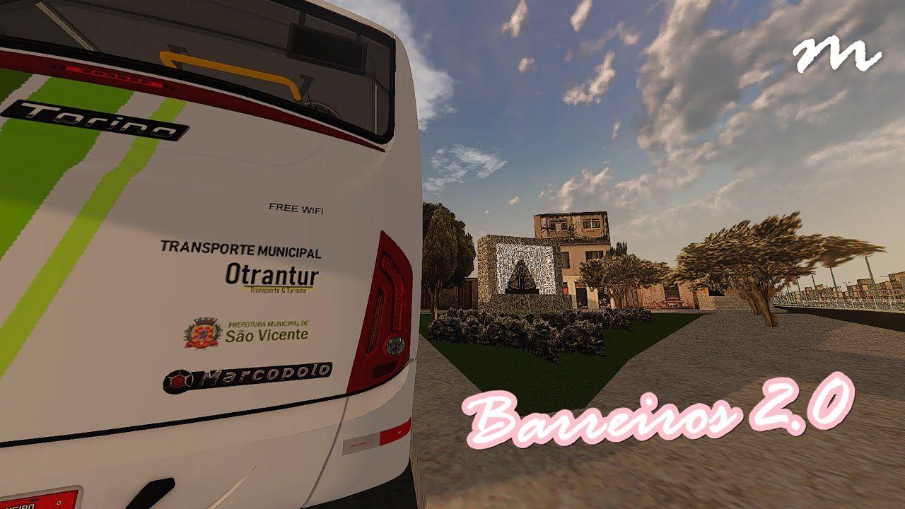 Mapa Barreiros São Vicente, São Paulo – Versão 2.0 (Fase 2) para Proton Bus Simulator/Road