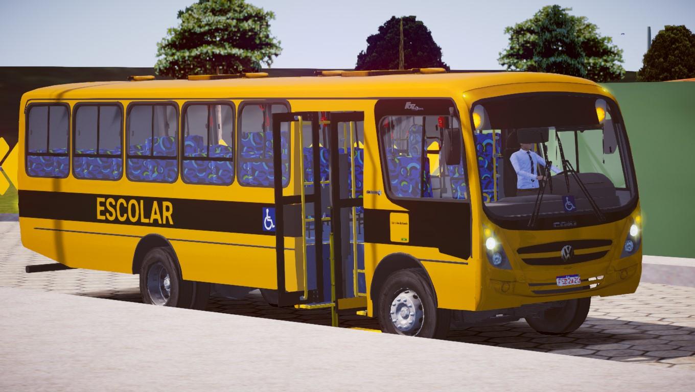 Caio Foz Super Escolar VW 15.190 ODR Euro V (Fase 2) para Proton Bus Simulator/Road