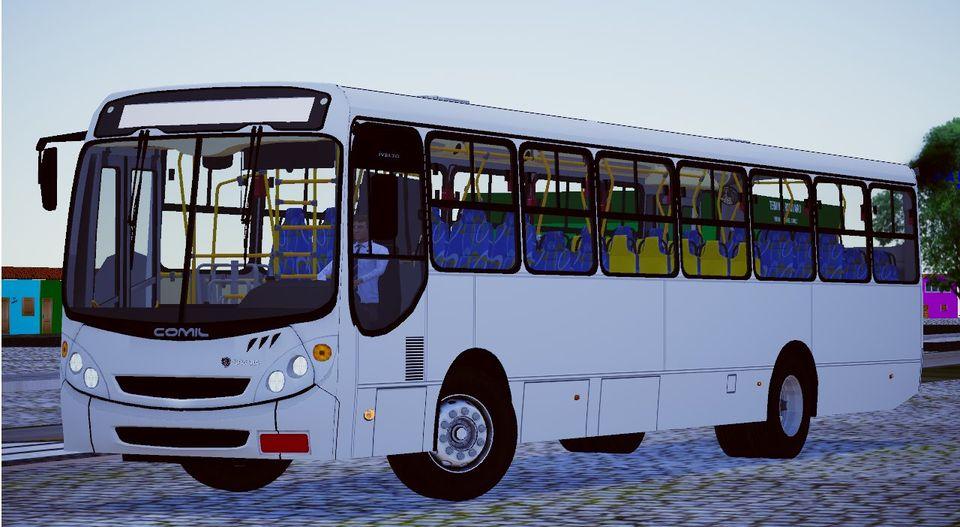 Comil Svelto 2000 Scania F-94 HB 2 Portas (Fase 2) para Proton Bus Simulator/Road