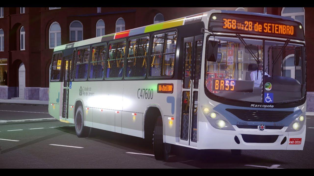 Marcopolo Torino 2007 MB OF-1722M – Padrão Rio de Janeiro (Fase 2) para Proton Bus Simulator/Road