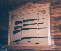 Build Wall Gun Cabinet Plans DIY PDF free small