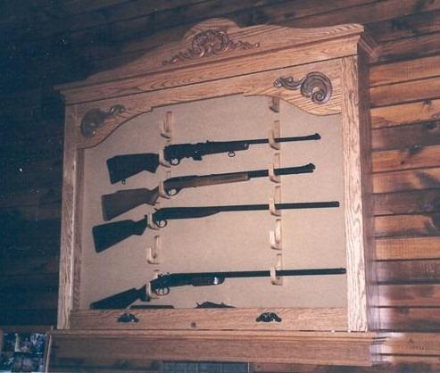 Build Wall Gun Cabinet Plans DIY PDF free small