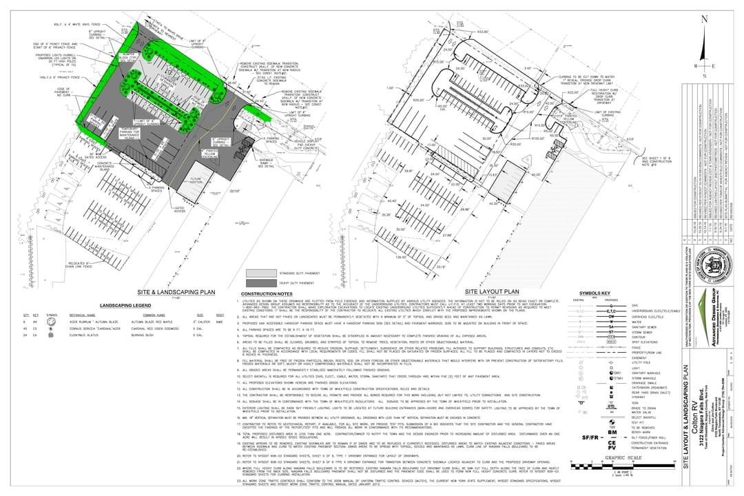 construction site layout plan