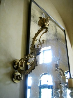 5003 Cb1 Ir W Fr Forged Italianate Wall Sconce ADG Lighting