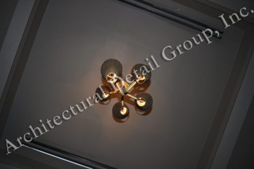 5210 Gold 5 Cone Light Vintage Style Royere Gold 5 Cone Light 4 SpagosWM