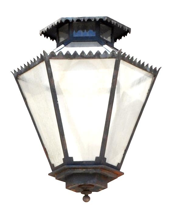 910 Mb1 Irbr P Sh 6 Sided Lantern Spanish Colonial ADG Lighting