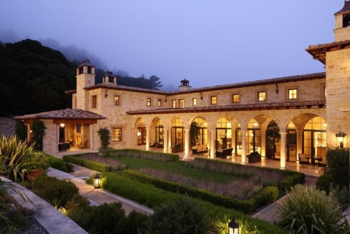 Carmel Valley Estate By Michael Berman Lanterns By ADG Lighting 2