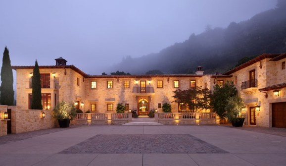 Carmel Valley Estate By Michael Berman Lanterns By ADG Lighting 9