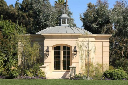 Pavilion Folie For Bel Air Country CLub Estate Lanterns 3designed By ADG Lighting