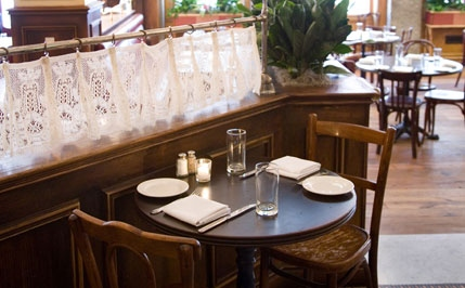 Rails At PArc Resturant