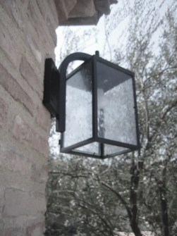 Shady Canyon Villa Guard House Light Fixtures By ADG Lighting