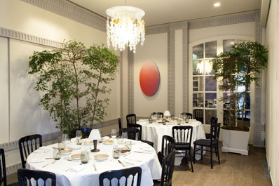 Spago Private Dining Light Fixtures