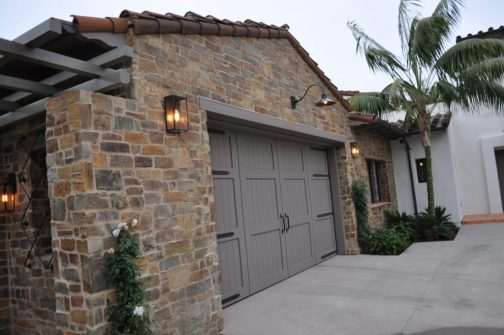 Custom Lantern And Garage Light Modern Traditional Architecture