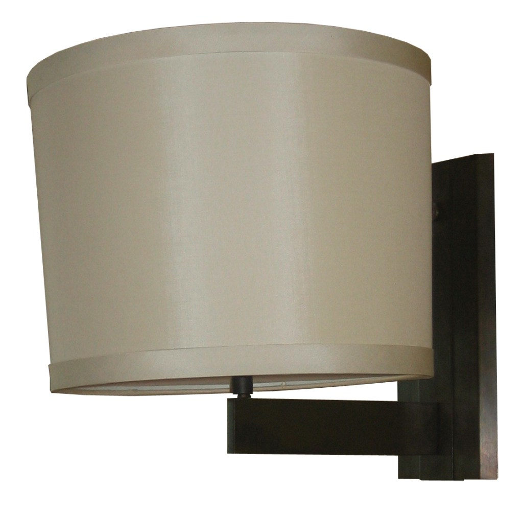 5230 Mb1 Br S Sh Silk Shade Sconce  – ADG Lighting