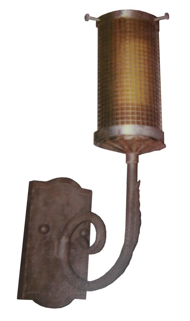 882 LED St S Sh LED Light Mesh Sconce 1 CR1  – ADG Lighting